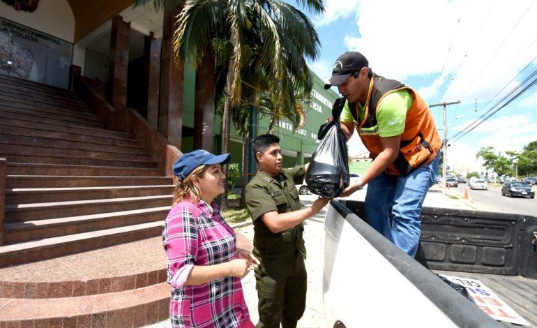 Gobierno Municipal continúa entregando raciones de almuerzo y cena en apoyo a la Policía