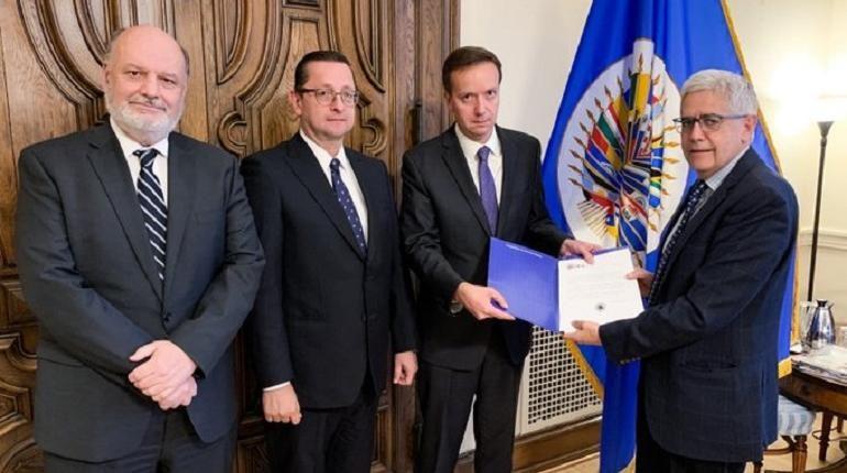 OEA entrega al Gobierno transitorio el informe final sobre el fraude electoral