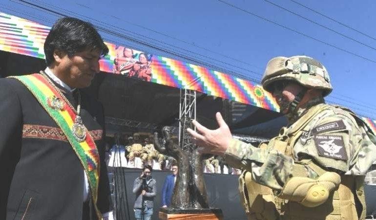 Kaliman a Evo: Cómo puede ser golpe de Estado, no me quedé de Presidente