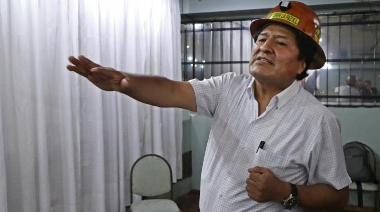 """Morales: """"Si volvería, hay que organizar como Venezuela milicias armadas del pueblo"""""""