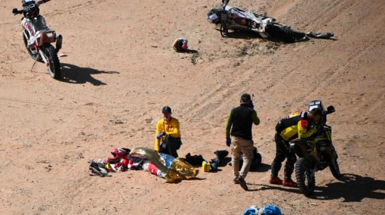 La octava etapa del Dakar es anulada para motos y quads por deceso de piloto portugués