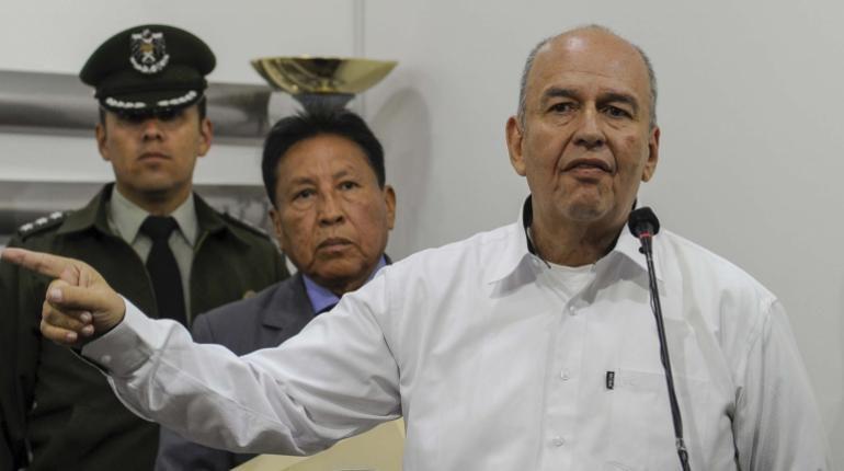 Murillo advierte que quienes apoyen idea de Evo de «milicias armadas» serán procesados