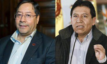 Arce Catacora y Choquehuanca son lo candidatos del MAS para las presidenciales