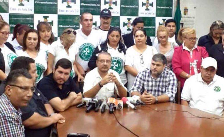 Comité Pro Santa Cruz advierte con paro indefinido si Evo es habilitado