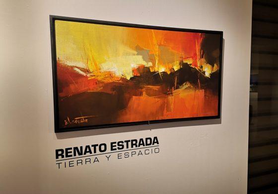 """Renato Estrada exhibe """"Tierra y Espacios"""" en la Galería de Arte de Los Tajibos Hotel"""