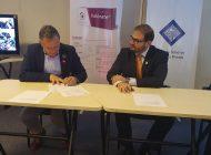 Droguería Inti S.A. y la Caja de Salud de la Banca Privada firman alianza para luchar contra la violencia