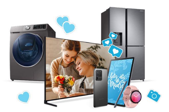 En este Día de la Madre los productos Samsung vienen con dinero en efectivo de regalo