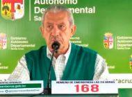 Oscar Urenda da nuevamente positivo a COVID-19