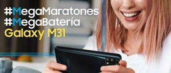 Batería del Galaxy M31 bate récord de durabilidad entre los teléfonos inteligentes