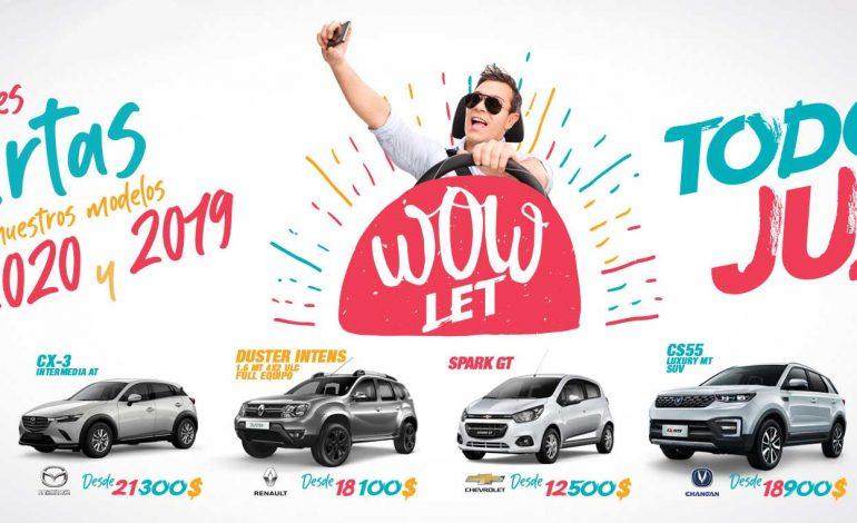 Wowlet de Imcruz, suma descuentos hasta de 2.000 dólares en vehículos '0' Km