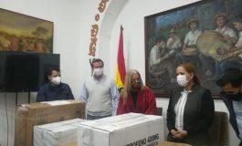 Imcruz donó medicamentos a la Alcaldía para 1.500 tratamientos