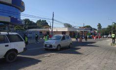 Gobierno Municipal controla que los vehículos de servicio público cumplan normas de bioseguridad