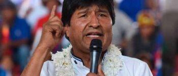 Confirman que Evo Morales tiene COVID-19 y se encuentra estable