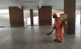 Gobierno Municipal inicia desinfección y fumigación en más de 500 unidades educativas