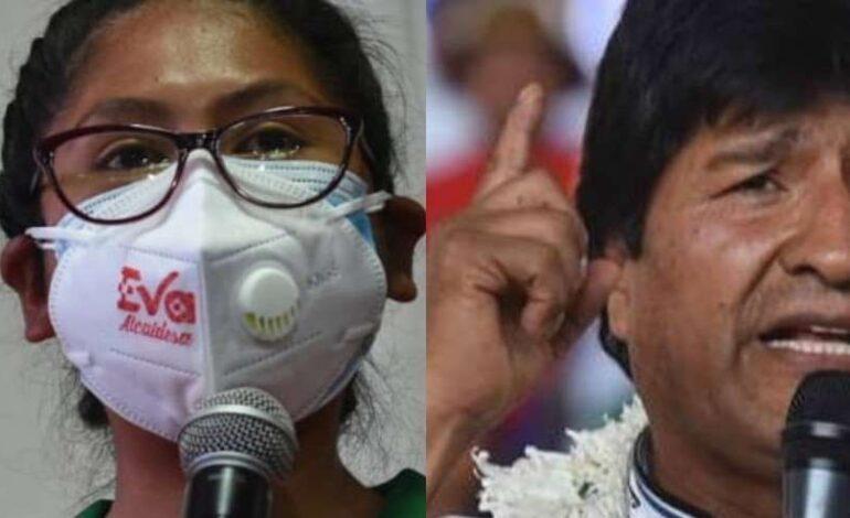 Eva vs Evo: campaña en El Alto desata calificativos del expresidente contra su exmilitante