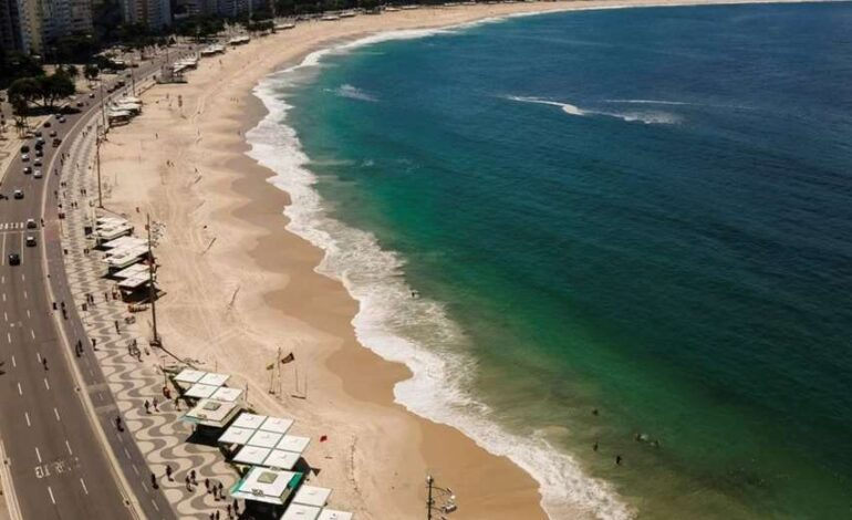 Río de Janeiro cierra sus playas para contener la propagación de contagios por Covid-19