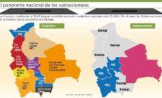 Fuerzas contrarias al MAS ganan en siete ciudades capitales y en El Alto