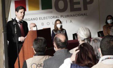 El TSE inaugura la jornada electoral de las subnacionales