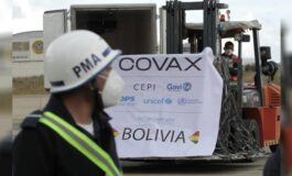 OMS: Bolivia será uno de los más afectados por la suspensión de exportaciones de vacunas desde India
