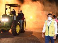 Alcalde llega con desinfección y brigadas médicas al mercado Abasto