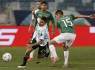 Bolivia cae por goleada ante Argentina y se despide de la Copa América