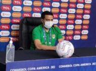 """Farías pide """"sensibilidad"""" a la Conmebol por eventual sanción a Martins"""