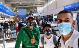 Martins, Vaca y Haquín viajan a Cuiabá luego de cumplir aislamiento por la Covid