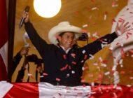 Jurado electoral proclama al izquierdista Pedro Castillo como nuevo presidente de Perú