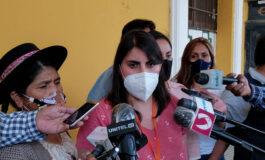Andrea Barrientos presenta su renuncia a la jefatura de bancada de CC en el Senado