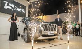 La nueva Hyundai Palisade 2022, ya se exhibe en la Expocruz 2021