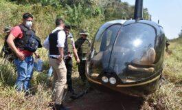 Operativos antidrogas logran incautar un helicóptero y destruir pistas clandestinas en Beni