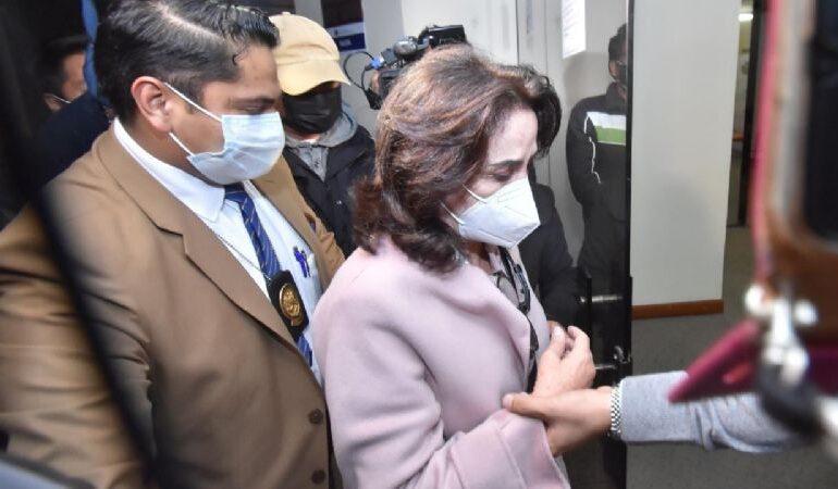 Hermana de Doria Medina fue liberada, tras declarar ante la Fiscalía