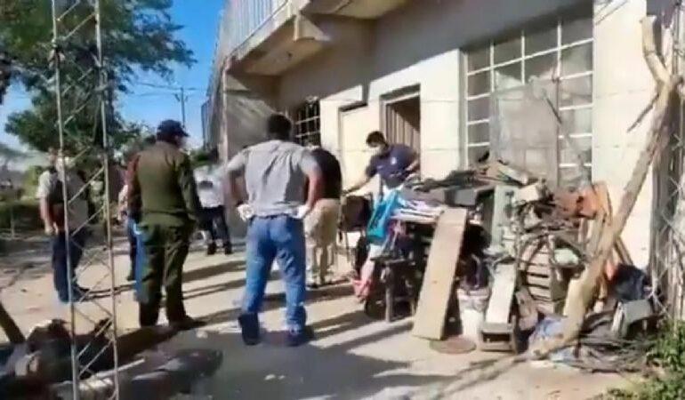 La Policía continúa la búsqueda del doble feminicida de Cotoca