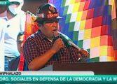 """COB en Santa Cruz: """"No vamos a permitir más golpes, no vamos a permitir más desestabilización"""""""