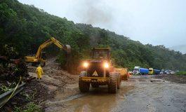 Lluvias causan el cierre de 3 tramos en la ruta La Paz-Beni
