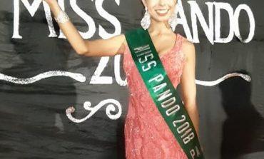 Miss Pando: Liz se convirtió en la primera reina con deficiencia auditiva en Bolivia