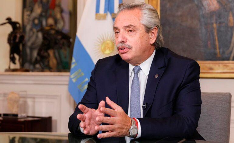 Presidente de Argentina dio positivo a coronavirus a más de un mes de estar vacunado