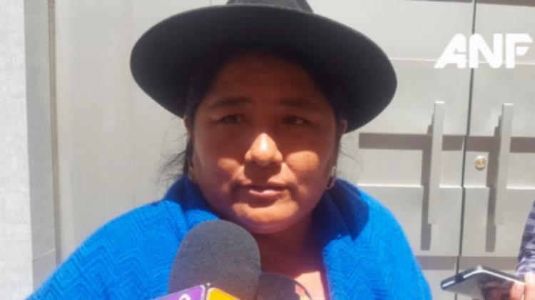Exdirigenta de las Bartolinas plantea purgar a los «dirigentillos vitalicios» del MAS