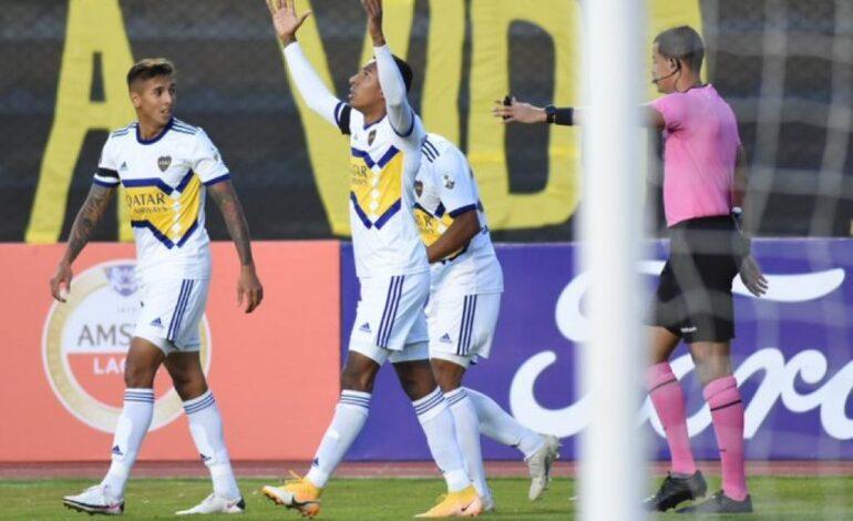 Boca hace su negocio y derrota al Tigre en La Paz