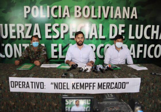La FELCN destruye dos mega fábricas de droga en el Parque Noel Kempff Mercado