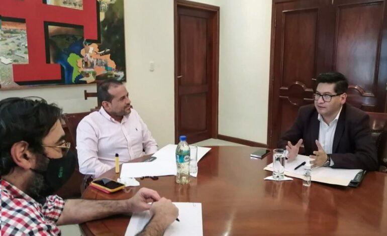 El Ministro de Economía se reunió con el Gobernador de Santa Cruz