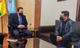 Ministerio de Economía analiza situación financiera de la Gobernación  y el municipio de Cochabamba