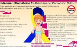 30 niños que pasaron la Covid-19 sufren el Síndrome Inflamatorio Multisistémico