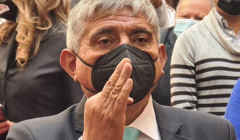 Iván Arias jura a la Alcaldía de La Paz
