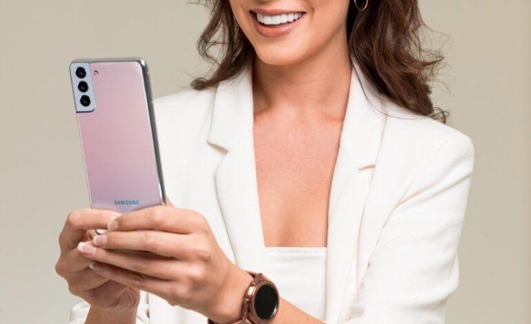 Samsung acompaña a Miss Bolivia Universo con tecnología de alta gama