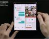 Galaxy Z Fold2: el celular que permite ver tres aplicaciones al mismo tiempo en una gran pantalla