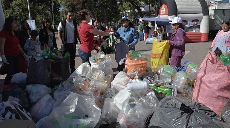 Campaña de acopio de residuos reciclables por el Día Mundial de Medio Ambiente