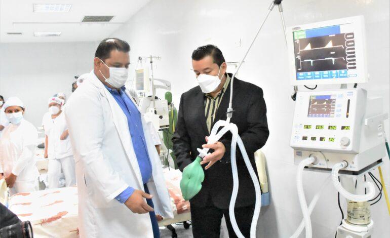 Alcalde refuerza el sistema de salud con la habilitación de 19 nuevas camas UCI en hospitales de 2do nivel