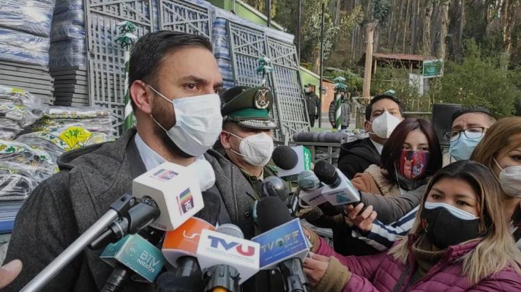 Del Castillo dice que gobierno de Lenin Moreno entregó en 2019 «municiones de guerra» a Bolivia