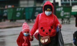 Pronostican para mañana un ingreso de frente frío; la temperatura el lunes llegará a 6 grados